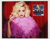 Katy Perry Signed 16x20 Custom Matted Photo Display (AutographCOA COA) at PristineAuction.com