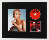 Eve Signed 16x20 Custom Matted Photo Display with CD (AutographCOA COA) at PristineAuction.com