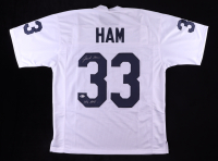 """Jack Ham Signed Jersey Inscribed """"We Are..."""" (Beckett COA) at PristineAuction.com"""