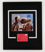 "Drew Barrymore Signed ""E.T."" 18.5x22.5 Custom Framed Photo Display (AutographCOA COA) at PristineAuction.com"
