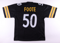 Larry Foote Signed Jersey (Beckett COA) at PristineAuction.com