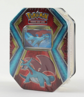 Pokemon TCG: Dragon Tin - Salamence at PristineAuction.com