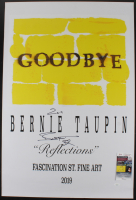 """Bernie Taupin Signed 24x36 Poster Inscribed """"2019"""" (JSA COA) at PristineAuction.com"""