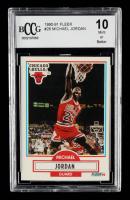 Michael Jordan 1990-91 Fleer #26 (BCCG 10) at PristineAuction.com