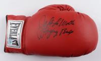 "Jake LaMotta Signed Everlast Boxing Glove Inscribed ""Ragging Bull"" (Super Star COA) at PristineAuction.com"