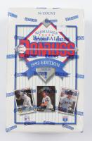 1993 Donruss Series 1 Baseball Hobby Box with (36) Packs at PristineAuction.com