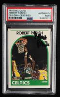 Robert Parish Signed 1989-90 Hoops #185 (PSA Encapsulated) at PristineAuction.com