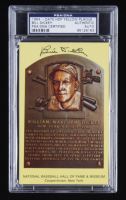 Bill Dickey Signed Hall of Fame Plaque Postcard (PSA Encapsulated) at PristineAuction.com