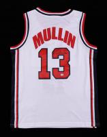 Chris Mullin Signed USA Jersey (PSA Hologram) at PristineAuction.com