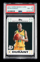 Kevin Durant 2007-08 Topps Rookie Set #2 (PSA 8) at PristineAuction.com