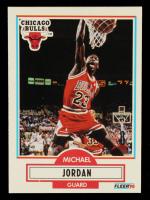 Michael Jordan 1990-91 Fleer #26 at PristineAuction.com