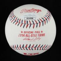 "Pat Neshek Signed 2014 All-Star Game Baseball Inscribed ""1st All-Star Game"" (JSA COA) (See Description) at PristineAuction.com"