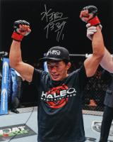 Takeya Mizugaki Signed 16x20 UFC Photo (Fanatics Hologram) at PristineAuction.com