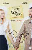 """Elle Fanning, Justice Smith, & Virginia Gardner Signed """"All The Bright Places"""" 11x17 Photo (JSA COA) at PristineAuction.com"""