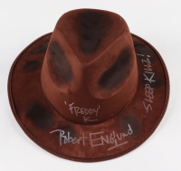 "Robert Englund Signed ""A Nightmare on Elm Street"" Hat Inscribed ""Freddy"" & ""Sleep Killz!"" (JSA COA) at PristineAuction.com"