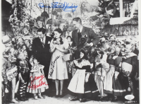 """""""The Wizard of Oz"""" 11x15 Photo Cast-Signed by (4) with Karl Slover, Mickey Carroll, Donna Stewart-Hardaway (JSA COA) at PristineAuction.com"""