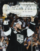 """Alec Martinez Signed Kings 16x20 Photo Inscribed """"'14 SC Champs"""" (Schwartz COA) at PristineAuction.com"""