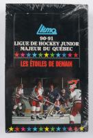 1990-91 Ligue De Hockey Junior Majeur Du Quebec Hockey Card Box of (36) Packs at PristineAuction.com