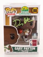 Gary Payton Signed SuperSonics #80 Funko Pop! Vinyl Figure (PSA COA) at PristineAuction.com