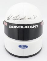 Bob Bondurant Signed NASCAR Mini-Helmet (JSA COA) (See Description) at PristineAuction.com