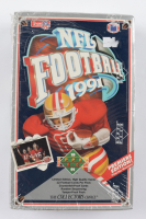 1991 Upper Deck Football Wax Box of (36) Packs (See Description) at PristineAuction.com