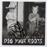 """Brian Kelley Signed Florida Georgia Line """"Dig Your Roots"""" CD Disc Insert (JSA COA) at PristineAuction.com"""