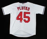 Adam Plutko Signed Indians Jersey (PSA COA) at PristineAuction.com