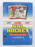 1990 Score NHL Hockey Premier Edition Wax Box with (36) Packs (See Description) at PristineAuction.com