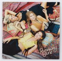 "Naomi Cooke, Hannah Mulholland & Jennifer Wayne Signed ""Runaway June"" CD Album (JSA COA) at PristineAuction.com"