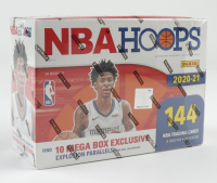 2020-21 NBA Hoops Premium Stock Basketball Mega Box with (144) Cards (See Description) at PristineAuction.com