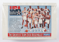 1992 SkyBox USA Basketball Cards Box with (36) Packs (See Description) at PristineAuction.com