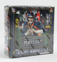 2020 Panini Playbook Football Retail Exclusive Mega Box with (4) Packs at PristineAuction.com