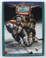 """Marco Sturm Signed 2010 Winter Classic Program Inscribed """"Winter Classic GWG"""" (YSMS Hologram) at PristineAuction.com"""