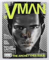 "Taylor Lautner Signed ""VMan"" Magazine (JSA COA) at PristineAuction.com"