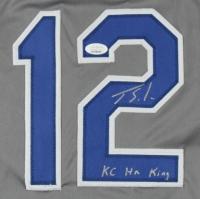 """Jorge Soler Signed Jersey Inscribed """"KC HR King"""" (JSA COA) at PristineAuction.com"""