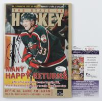 "Petteri Nummelin Signed ""The State of Hockey"" Magazine (JSA COA) at PristineAuction.com"