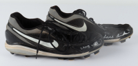 """Lars Anderson Signed Pair of Game-Used Nike Baseball Cleats Inscribed """"Game-Used"""" (YSMS COA) at PristineAuction.com"""