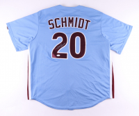 Mike Schmidt Signed Phillies Jersey (JSA COA) at PristineAuction.com
