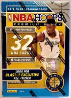 2019-20 Panini Hoops Premium Stock Inaugural Edition Trading Cards Blaster Box with (8) Packs at PristineAuction.com