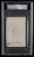 Jack Wagner Signed Cassette Tape Cover (PSA Encapsulated) at PristineAuction.com
