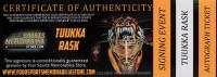 Tuukka Rask Signed Louisville TPS Game-Used Hockey Stick (YSMS COA & Rask Hologram) (See Description) at PristineAuction.com