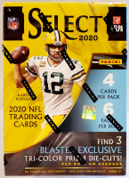 2020 Panini Select Football Trading Cards Blaster Box with (6) Packs at PristineAuction.com