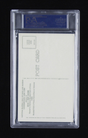 Jesse Haines Signed Hall of Fame Plaque Postcard (PSA Encapsulated) at PristineAuction.com