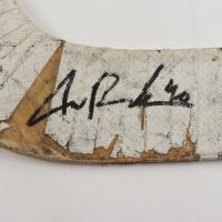 Tuukka Rask Signed Hesepeler Game-Used Goalie Stick (Rask COA) at PristineAuction.com
