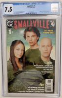 "2003 ""Smallville"" Issue #1 DC Comic Book (CGC 7.5) at PristineAuction.com"