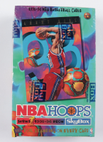 1995/96 Hoops Series 1 Basketball Hobby Box with (36) Packs at PristineAuction.com