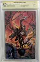 "Tyler Kirkham signed 2020 ""Detective Comics"" Issue #1027 Kirkham Variant DC Comic Book (CBCS Encapsulated - 7.0) at PristineAuction.com"
