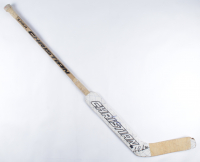 Tuukka Rask Signed Christian Game-Used Goalie Stick (Rask COA) at PristineAuction.com