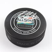 Claude Giroux Signed 2019 NHL All-Star Game Logo Hockey Puck (Fanatics Hologram) at PristineAuction.com