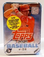 2021 Topps Series 1 Baseball Trading Card Tin at PristineAuction.com